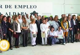 Clausurada la escuela taller 'La Aldaba'