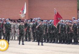 500 militares de la Brigada Extremadura XI parten al Líbano