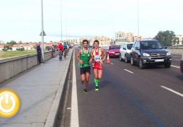 Los atletas portugueses lideran la Media Maratón Elvas-Badajoz