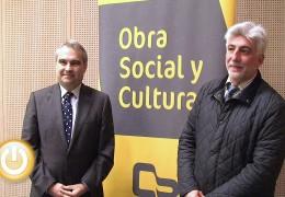 Ayuntamiento y Caja Badajoz firman un convenio para el desarrollo de actividades culturales