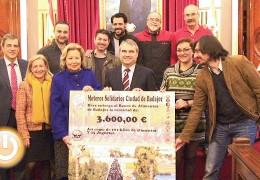 El Banco de Alimentos recibe un cheque de 3.600 euros