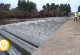 Presentada la nueva escala de peces construida en el azud de la Granadilla