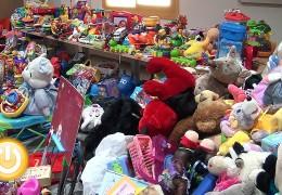 Éxito de la campaña de recogida de juguetes