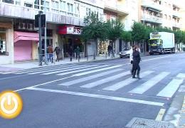 Comienza a funcionar el primer paso de peatones inteligente en la ciudad