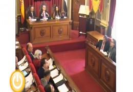 Pleno ordinario de diciembre de 2013 del Ayuntamiento de Badajoz