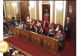 Pleno ordinario de noviembre de 2013 del Ayuntamiento de Badajoz