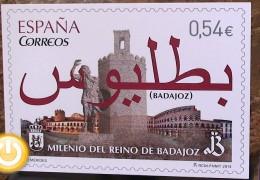 El Milenio del Reino de Badajoz ya tiene sello de Correos propio