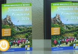 Presentadas las Jornadas de Primavera 2014 dirigidas a los mayores