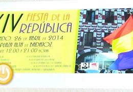 El 14 de abril comienzan los actos de la XIV Fiesta de la República