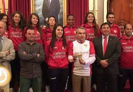 Las chicas del Santa Teresa campeonas de Segunda División