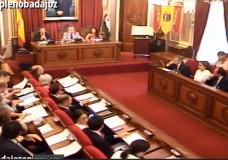 Pleno ordinario de junio del Ayuntamiento de Badajoz