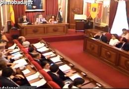 Pleno ordinario de junio de 2014 del Ayuntamiento de Badajoz