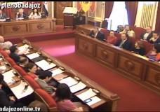 Pleno ordinario de mayo del Ayuntamiento de Badajoz