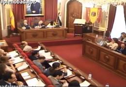 Pleno ordinario de abril de 2014 del Ayuntamiento de Badajoz