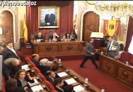 Pleno ordinario de marzo de 2014 del Ayuntamiento de Badajoz
