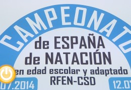 Badajoz acogerá el Campeonato de España de Natación Infantil y Adaptada