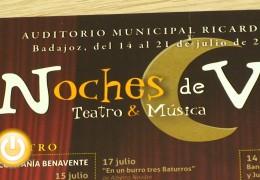 Vuelven las Noches de Música y Teatro de Verano
