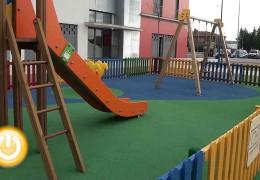 Castelar y el parque del Guadiana contarán con juegos infantiles para discapacitados