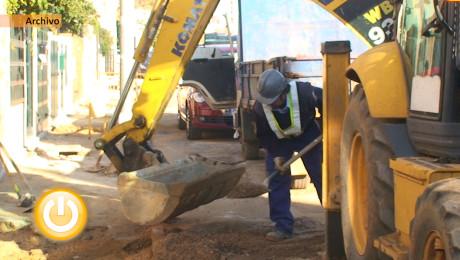 Nuevas tuberías para calles de Ciudad Jardín y Urbanización Guadiana