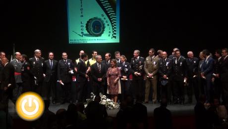 Distinciones para reconocer la entrega de la Policía Local