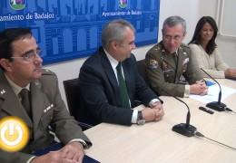 50 soldados desfilarán el jueves en el Acto de Retreta Militar que se celebrará en Badajoz
