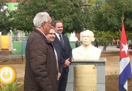 El Embajador cubano en España visita Badajoz