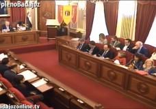 Pleno ordinario de noviembre del Ayuntamiento de Badajoz