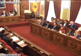 Pleno ordinario de noviembre de 2014 del Ayuntamiento de Badajoz
