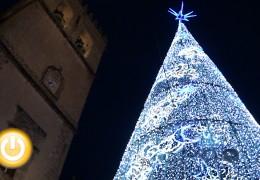 Badajoz enciende las luces de la Navidad