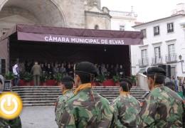 Fragoso asiste a la celebración del aniversario de la Batalla das Linhas en Elvas