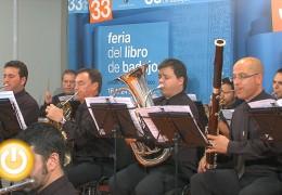 Concierto de la Banda Municipal de Música de Badajoz en la XXXIII Feria del Libro