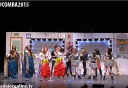 Murgas Carnaval de Badajoz 2015:  Las Polichinelas en preliminares