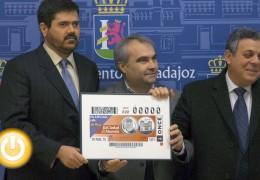 La ONCE dedica el cupón de mañana a Badajoz