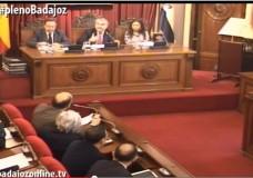 Pleno ordinario de febrero del Ayuntamiento de Badajoz