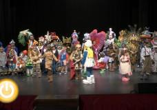 Concurso infantil de disfraces Carnaval de Badajoz 2015