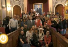 Más de 70 miembros de Batala Internacional disfrutan del Carnaval de Badajoz