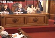 Pleno extraordinario de enero del Ayuntamiento de Badajoz