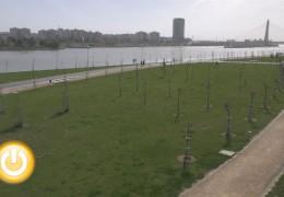 El Ayuntamiento recepciona el parque del Guadiana
