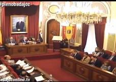 Pleno ordinario de marzo del Ayuntamiento de Badajoz