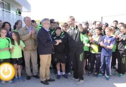 El Club de Piragüismo de Badajoz estrena nuevas instalaciones