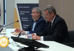Ayuntamiento y Caja de Badajoz firman un convenio para desarrollar actividades culturales