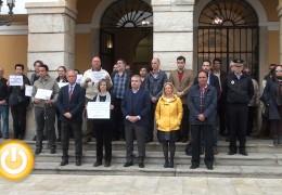 Minuto de silencio por la muerte de una mujer en Vitoria