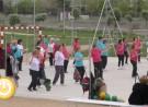 Los mayores estrenan el parque del Guadiana
