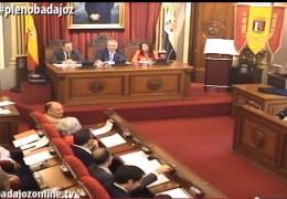 Pleno ordinario de abril de 2015 del Ayuntamiento de Badajoz