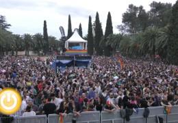 «Los palomos» reúnen a más de 25.000 personas