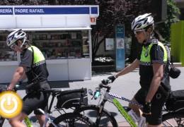 En marcha una nueva patrulla de Policía Local en bicicleta
