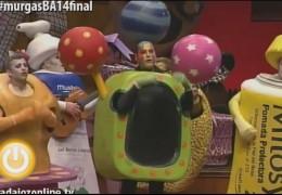 Final del Concurso de Murgas Carnaval de Badajoz 2014: Los Espantaperros