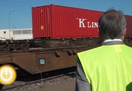 Badajoz retoma su actividad logística