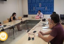 Cabezas solicita que se agilicen los proyectos que dependen del Ayuntamiento