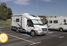 Badajoz inaugura su espacio para autocaravanas